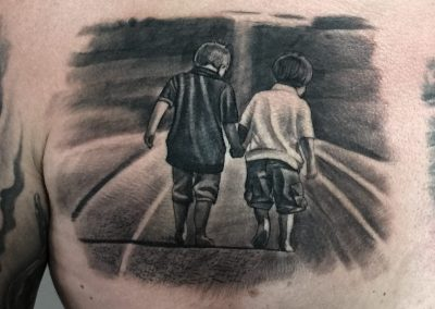 brothers tattoo,tatuaj frati