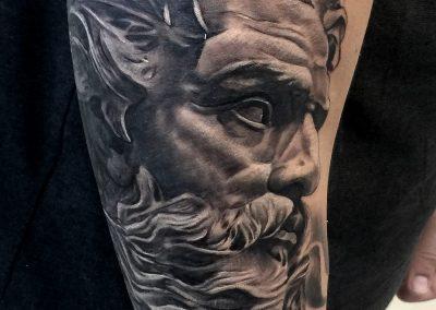 poseidon tattoo,tatuaj poseidon