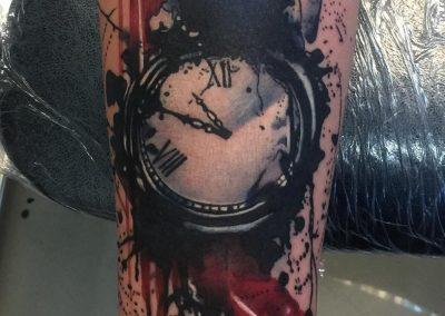 TRASH-Polka-tattoo-watch-tatuaj-ceas