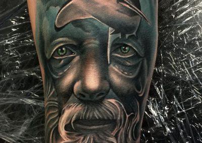 shark tattoo,tatuaj rechin