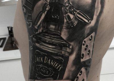 gambling tattoo,tatuaj jocuri de noroc
