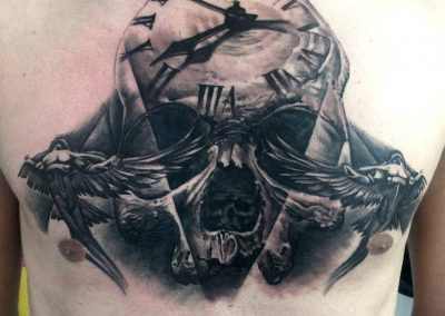chest tattoo,tatuaj piept