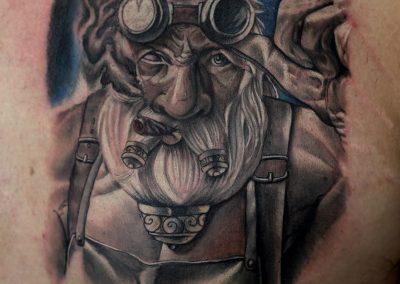smoker tattoo