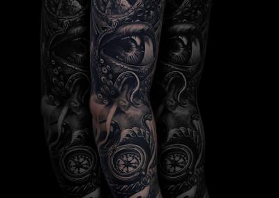 full-sleeve-tattoo,tatuaj-maneca