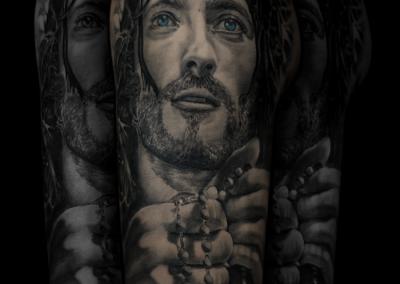 tatuaj isus