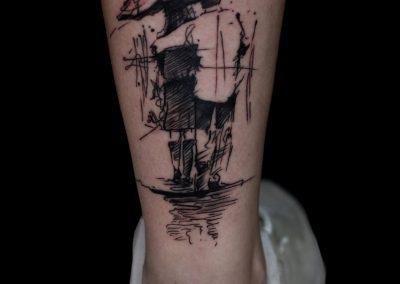 tatuaj cuplu,tatuaj mic,tatuaj umbrela